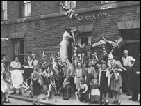 VE Day celebrations in London
