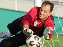Sao Paolo goalkeeper Rogerio