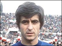 Former AC Milan star Gianni Rivera