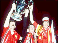 Graeme Souness, Kenny Dalglish and Alan Hansen
