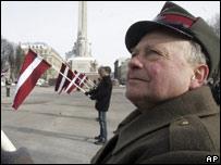 Ветераны Ваффен-СС 16 марта 2005 года