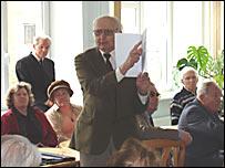 Встреча эстонских ветеранов