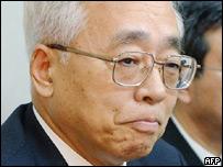 Takuo Tsurushima, president of the Tokyo Stock Exchange