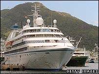 Pirates attacked the Seabourn Spirit in November