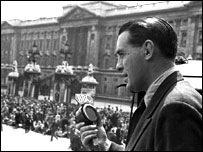 The BBC reporting on VE Day
