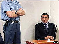 Gen Ante Gotovina appears in court