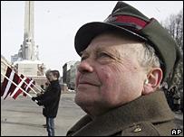 Ветеран латвийского подразделения СС