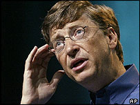 Microsoft chairman and chief software architect Bill Gates