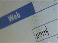 Web search for porn, BBC