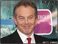 Tony Blair on the announcement of his victory in his constituency