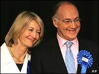 Майкл Хауард с женой