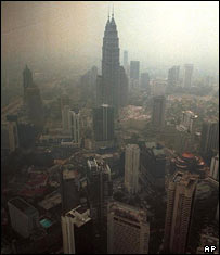 Smog in Asia (AP)