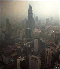 Smog in Asia (AP)