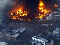 The Buncefield fire