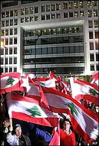 Manifestantes en Beirut protestan por el asesinato de periodista