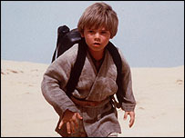 Jake Lloyd in The Phantom Menace