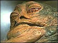 Jabba the Hutt in Return of the Jedi