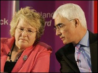 Anne McGuire and Alistair Darling discuss Labour's election performance