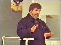 Teacher Glyn Banks