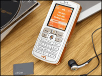 SonyEricsson's Walkman mobile