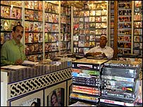 Video shop in Karachi