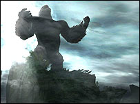Screenshot of King Kong game