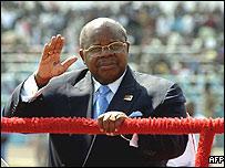 President Benjamin Mkapa