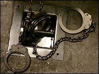 Esposas de la cárcel de Guantánamo, EE.UU.