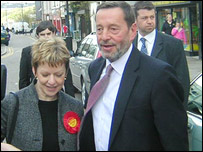 Labour's Maggie Jones and David Blunkett