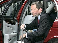 Ex-Home Secretary David Blunkett