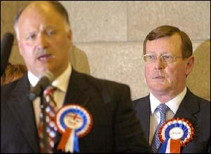 David Simpson and David Trimble