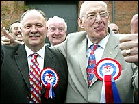 David Simpson and Rev Ian Paisley