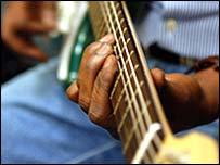 Brixton prison guitar