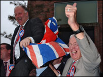 Ian Paisley and David Simpson