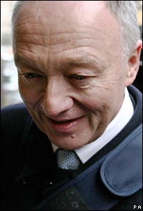 Ken Livingstone arrives for the hearing