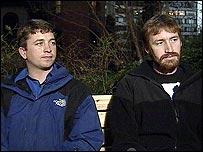 Jonathan Powers and Garrett Reppenhagen