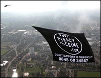 Piracy banner