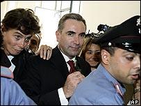 Gianpiero Fiorani after meeting prosecutors in August