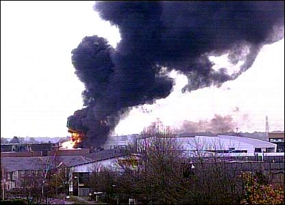 New fire at Buncefield depot