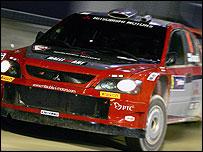 Mitsubishi's Harri Rovanpera
