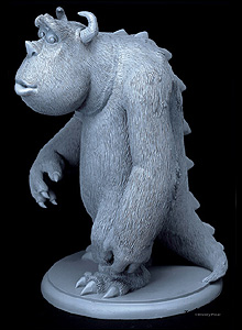Sullivan, Monsters Inc, cast urethane resin - Copyright Disney/Pixar