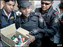 Bangladesh Rapid Action Battalion raid in Dhaka