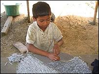 Juan Carlos, niño guatemalteco.