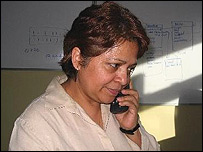 Miriam de Celada, coordinadora de proyectos del Programa Mundial para la Erradicación del Trabajo.