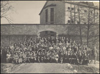 Ruthin jail while it was a munitions factory in 1944