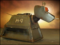 Doctor Who's robot dog K9