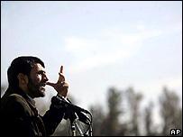 Mahmoud Ahmadinejad, presidente iraní.
