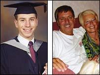 Tom Fairbairn,  Colin Fairbairn, Carole Fairbairn