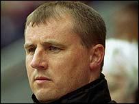 Wigan manager Paul Jewell