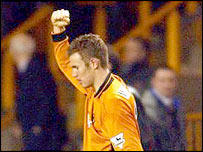Wolves midfielder Kenny Miller